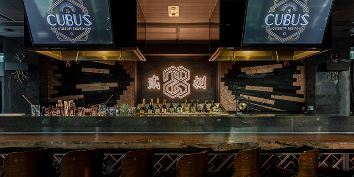 Bar Area, Cubus 28, Causeway Bay, Hong Kong