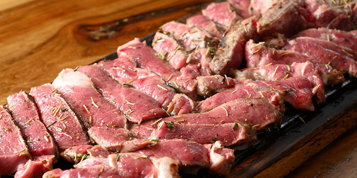 Beef Slices, The Italian Club Wine Bar, Steak House & Pizza Gourmet, SOHO, Hong Kong
