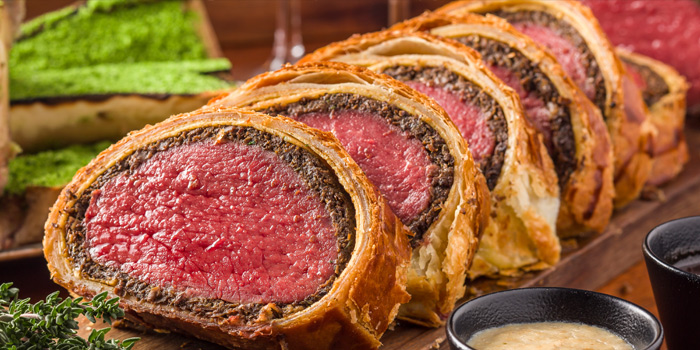 Beef Wellington, Bread Street Kitchen & Bar, The Peak, Hong Kong