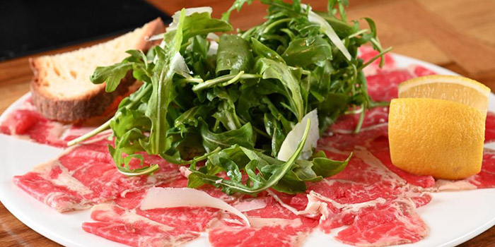 Beef with Arugula, The Italian Club Wine Bar, Steak House & Pizza Gourmet, SOHO, Hong Kong
