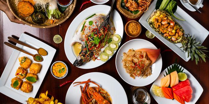 Big Meal from Silk Restaurant and Bar in Kamala, Kathu, Phuket, Thailand