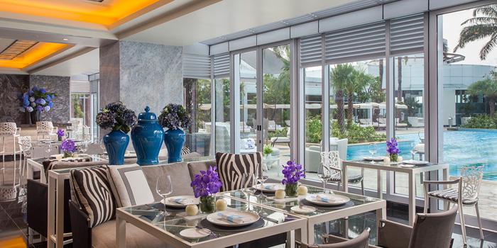 Interior 1 at bleu8, Hotel Mulia Senayan
