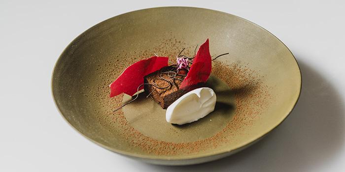 Dish from BLANCO Par Mandif in Ubud, Bali