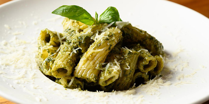 Broccoli Pasta, The Italian Club Wine Bar, Steak House & Pizza Gourmet, SOHO, Hong Kong