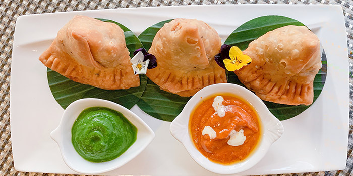 Butter Chicken Samosa, Carat Fine Indian Cuisine, Lan Kwai Fong, Hong Kong