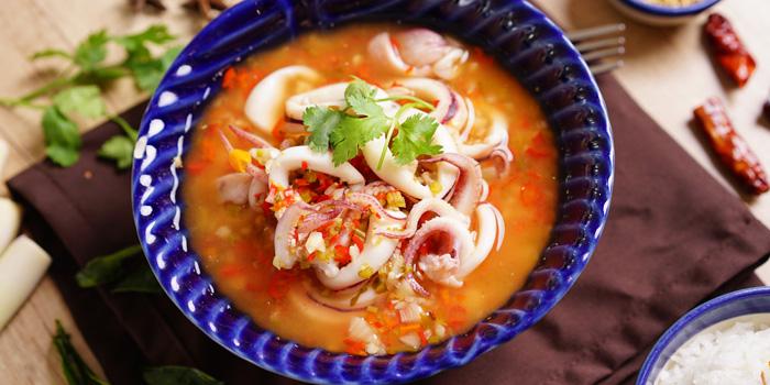 Cumi Soup Asam at Niyom, Greenville