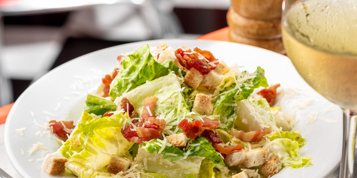Set Caesar Salad from V8 Diner at 32/2 Sukhumvit Soi 11 Insanity Building Khlong Toei Nuea, Khlong Toei Bangkok