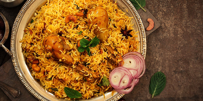Chicken Biryani from Indian Curry House (Siglap) in East Coast, Singapore