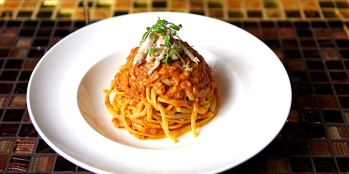Chili Crab Linguine from Wonderland Savour (Wisma Atria) in Orchard, Singapore