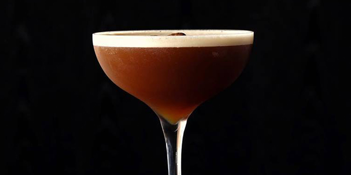 Coffee Cocktail from SKAI Bar at Swissotel the Stamford in City Hall, Singapore