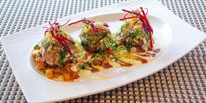 Crispy Corn Chaat, Carat Fine Indian Cuisine, Lan Kwai Fong, Hong Kong
