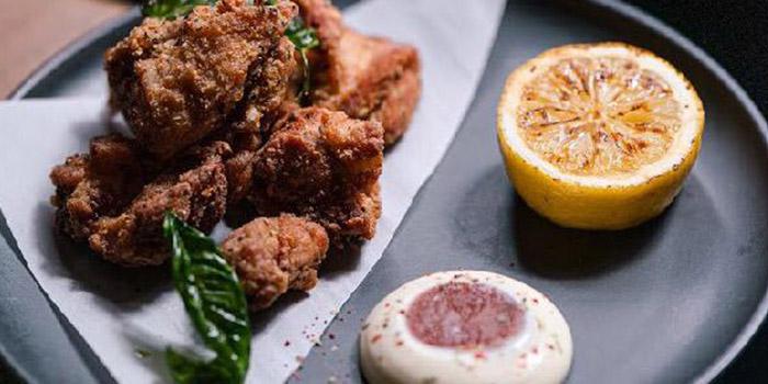 Deep Fried Chicken, Tipsy Restaurant & Bar, Tai Hang, Hong Kong