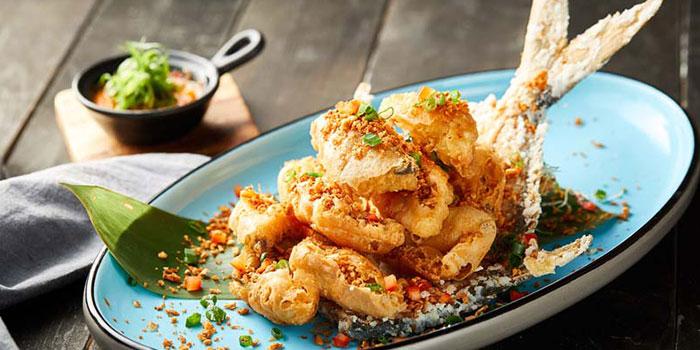 Deep Fried Fish, Tian Tian Hainanese Chicken Rice (Tsim Sha Tsui), Tsim Sha Tsui, Hong Kong