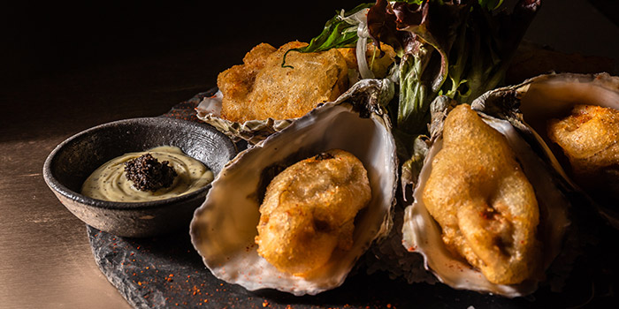 Deep Fried Oyster, Cubus 28, Causeway Bay, Hong Kong