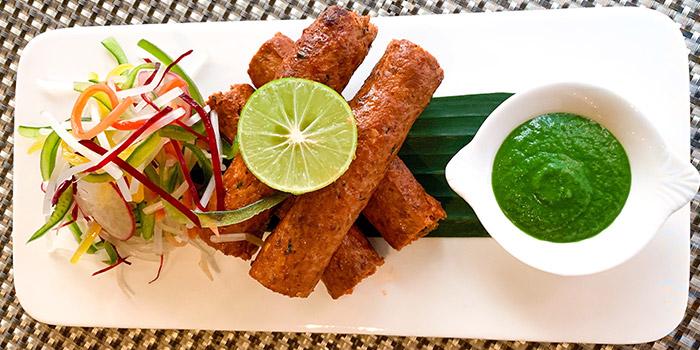 Deep Fried Rolls, Carat Fine Indian Cuisine, Lan Kwai Fong, Hong Kong