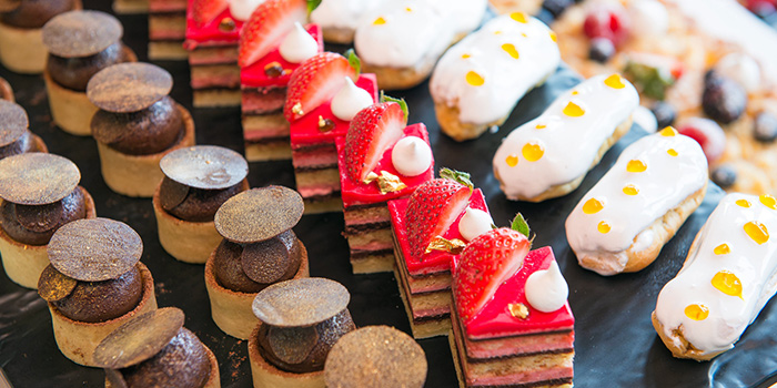 Dessert from Café 2000 at M Hotel in Tanjong Pagar, Singapore