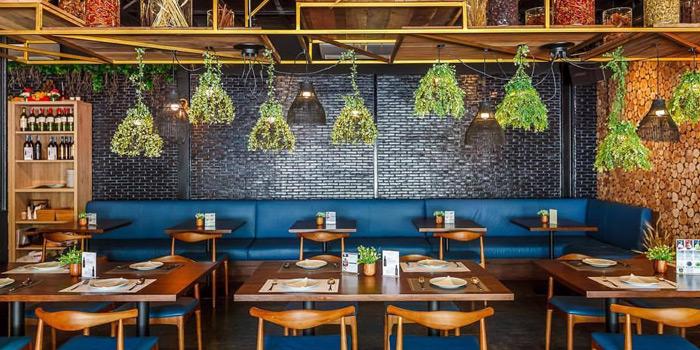 Dining Area from The Clock Out at 35/5-7 Krungthonburi Road Klong Ton Sai, Klong San Bangkok