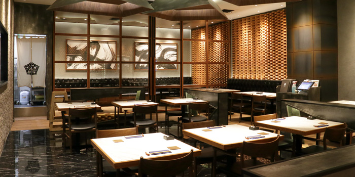 Dining Area of Kamui Hokkaido Dining at ICONSIAM 299 Fl.4 Charoen Nakhon Rd Khlong Ton Sai, Khlong San Bangkok