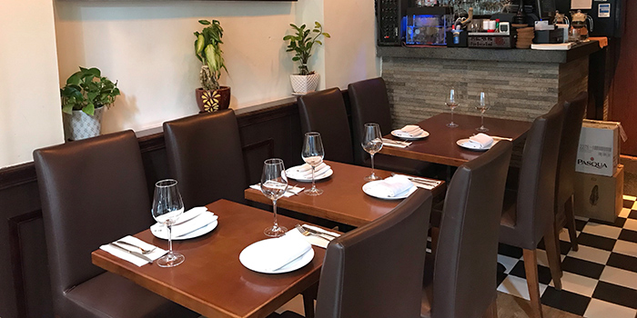 Dining Area, BRESOLA, Kennedy Town, Hong Kong