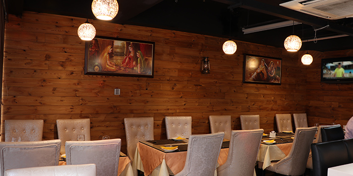 Dining Area, Curry Leaf Indian Cuisine, Jordan, Hong Kong