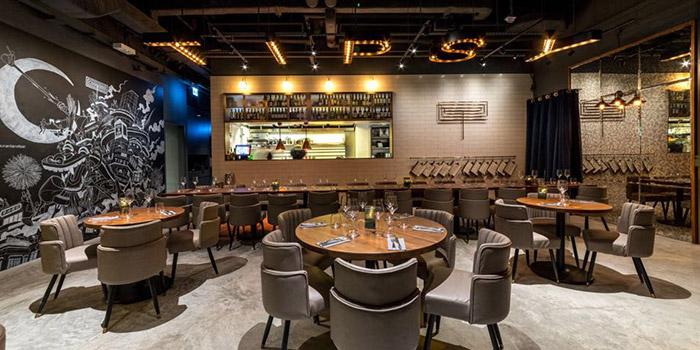 Dining Area, Tipsy Restaurant & Bar, Tai Hang, Hong Kong