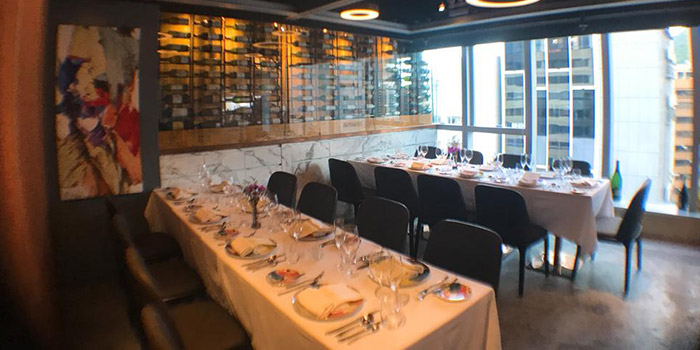 Dining Area, Les Saveurs Private Kitchen, Wan Chai, Hong Kong