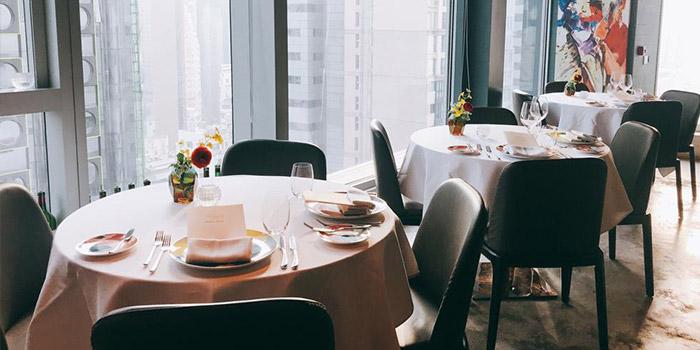 Dining Table, Les Saveurs Private Kitchen, Wan Chai, Hong Kong