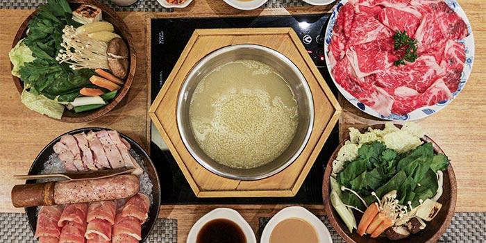 Dish 1 at Shabu-Shabu House
