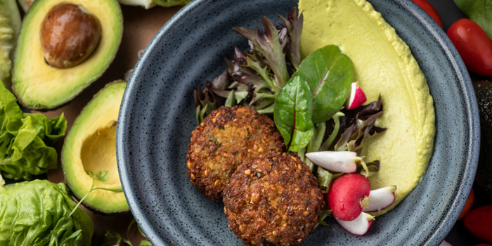 Falafel Salad, Bread Street Kitchen & Bar, The Peak, Hong Kong