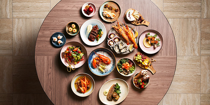Food Spread from Clove at Swissotel The Stamford in City Hall, Singapore