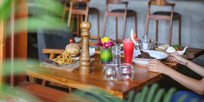 Food from Macan Cafe, Canggu, Bali