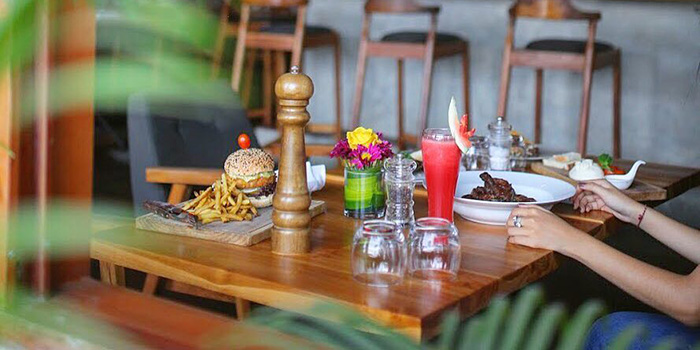 Food from Macan Cafe, Canggu, Bali