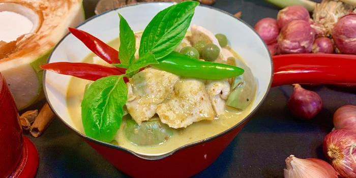 Green Curry from Albricias at Chatrium Residence Sathon, Soi Naradhiwas 24, Bangkok