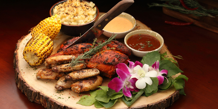 Grilled Dishes from Nabah Grill & Sky Lounge at Solitaire Hotel Bangkok (Rooftop 16th Floor) 75/23 Sukhumvit Soi 13 Klongtoey-Nua Bangkok