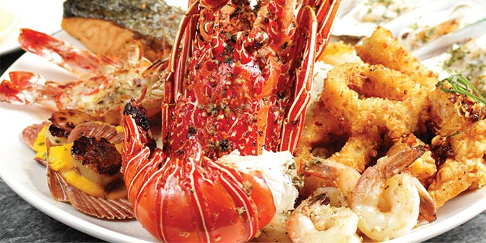 Seafood Platter at Hurricane