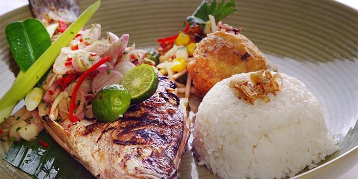Ikan Bakar Jimbaran at Cafe One, Jakarta