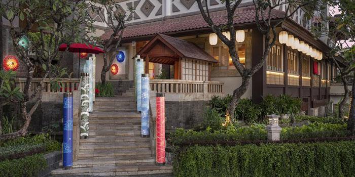 Exterior from Nagisa Japanese Restaurant, Nusa Dua, Bali