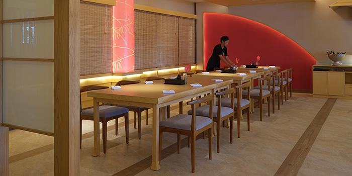 Interior from Nagisa Japanese Restaurant, Nusa Dua, Bali