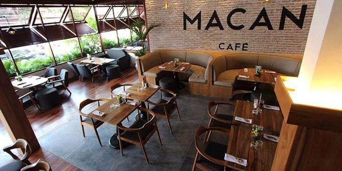 Interior from Macan Cafe, Canggu, Bali