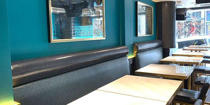 Interior, Carat Fine Indian Cuisine, Lan Kwai Fong, Hong Kong