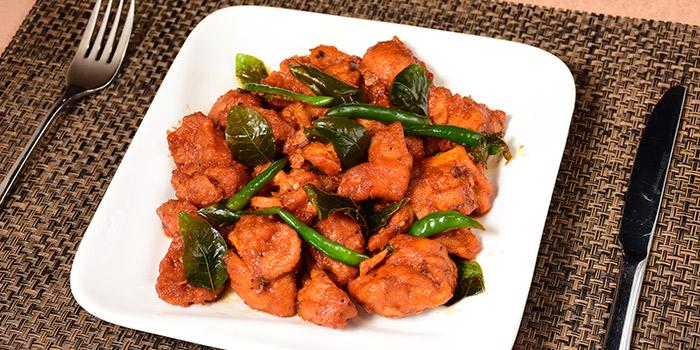Jeera Prawn, Curry Leaf Indian Cuisine, Jordan, Hong Kong