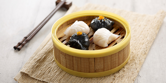 Black & White Har Kau from Crystal Jade Hong Kong Kitchen (Tampines Mall) at Tampines Mall in Tampines, Singapore
