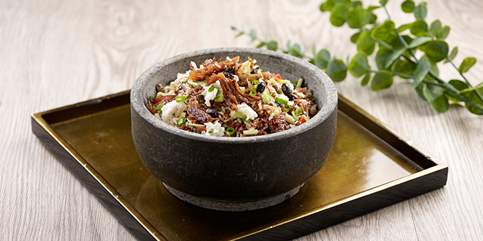 Fried Brown Rice from Crystal Jade Hong Kong Kitchen (Causeway Point) in Woodlands, Singapore