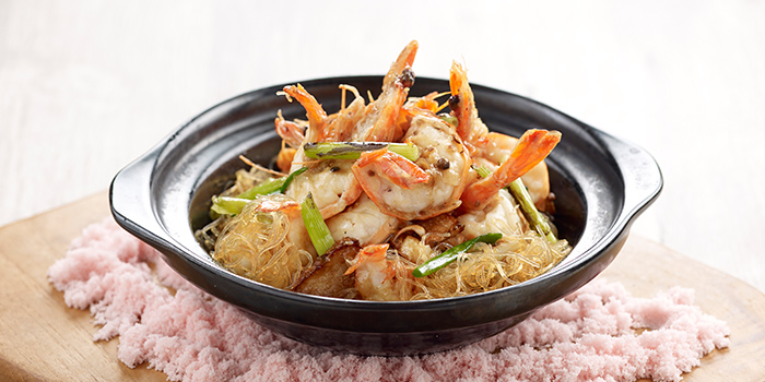 Sauteed Vermicelli Prawns from Crystal Jade Hong Kong Kitchen (Causeway Point) in Woodlands, Singapore