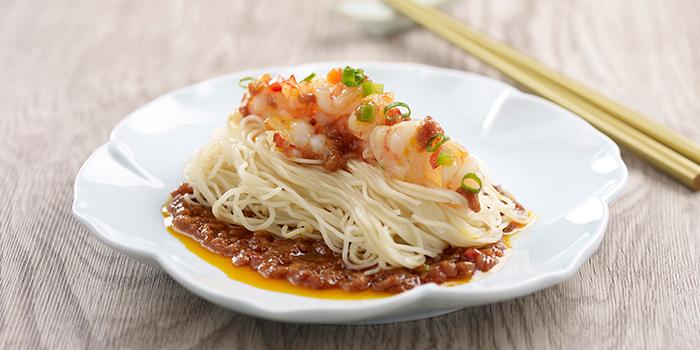 Sweet & Spicy Minced Meat Noodle from Crystal Jade Hong Kong Kitchen (Takashimaya) at Takashimaya Shopping Centre in Orchard, Singapore