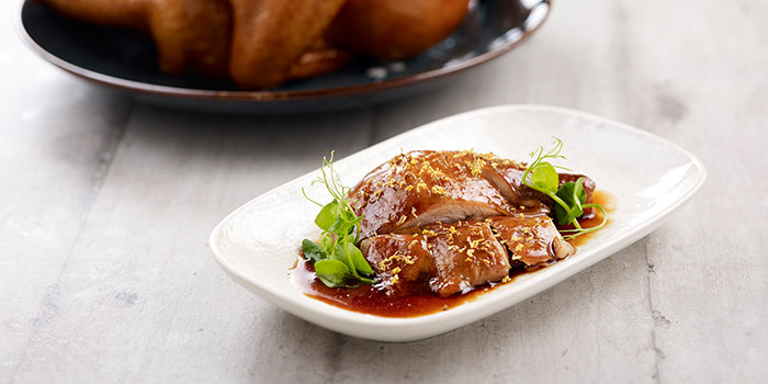 Soy Sauce Chicken wih Osmanthus from Crystal Jade Hong Kong Kitchen (Takashimaya) at Takashimaya Shopping Centre in Orchard, Singapore