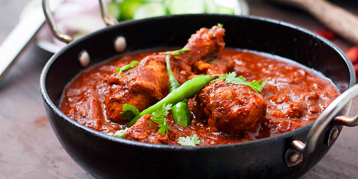 Kadai Chicken from Indian Curry House (Sixth Avenue) at Sixth Avenue Center in Bukit Timah, Singapore