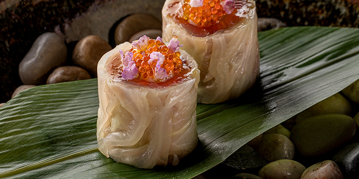 Kyushu Flying Fish Roe from Whitegrass in Chijmes, Singapore