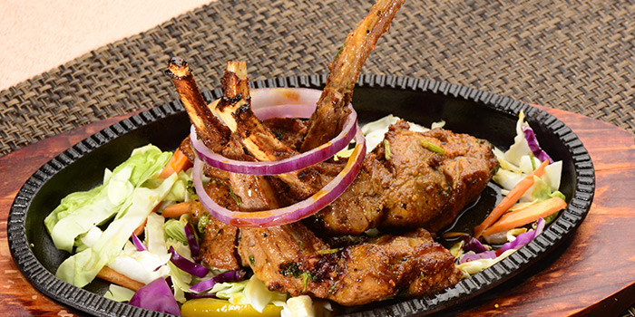 Lamb Chops, Curry Leaf Indian Cuisine, Jordan, Hong Kong