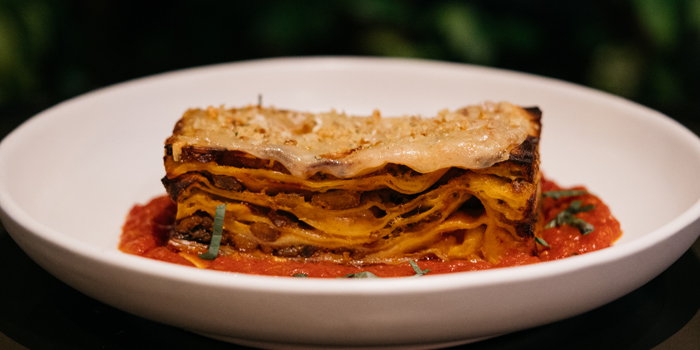 Lasagna Vincisgrassi from CarBar at 72 Courtyard, Sukhumvit 55 Thonglor, Bangkok